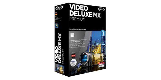 Deutlich schneller geworden: die Videobearbeitungs-Software Video deluxe MX Premium