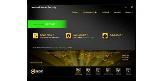 Die neuen Features von Norton Internet Security 2012
