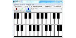 MIDI-Klavier
