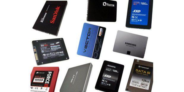 Test: SSD-Festplatten bis 128 Gigabyte Bruttokapazität