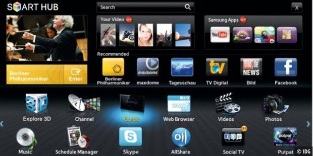 sony smart tv apps werden nicht angezeigt