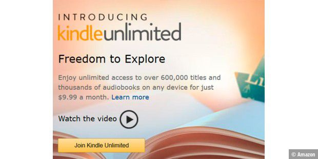 Amazon kündigt Kindle Unlimited an