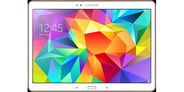 Android-Tablet mit starkem AMOLED-Display: Samsung Galaxy Tab S 10.5 LTE im Test