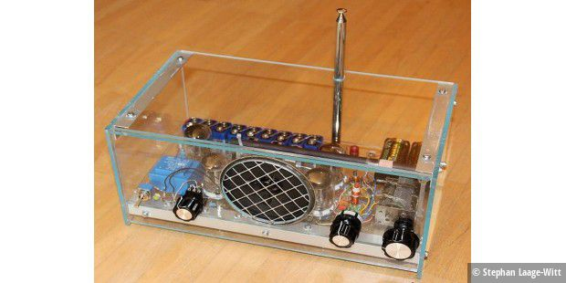 Nostalgie-Radio selber gebaut - PC-WELT