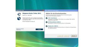 Steganos Konto-Ticker 2012