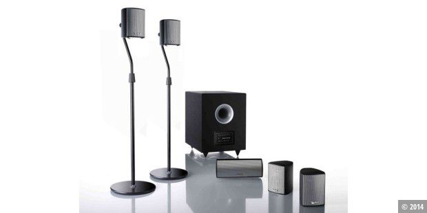 Teufel Concept E Magnum 5.1 Power Edition in schwarz