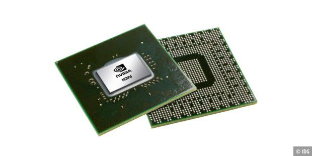Nvidia ION: Einchip-Chipsatz für Intels Atom-CPU