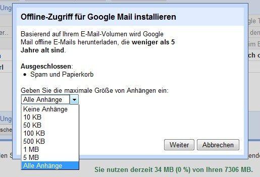 Wie öffne ich Anhänge in Google Mail?