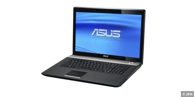 Core-Notebook mit 17,3-Zoll-Display: Asus N71