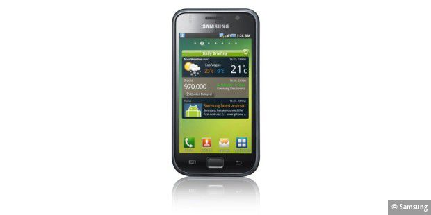 Samsung Galaxy S: elegant wie das iPhone
