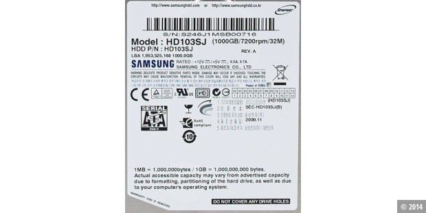 Samsung Spinpoint F3 1TB HD103SJ