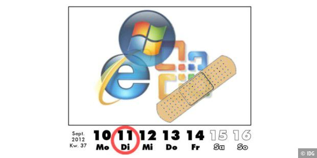 Microsoft Patch-Day im  September 2012