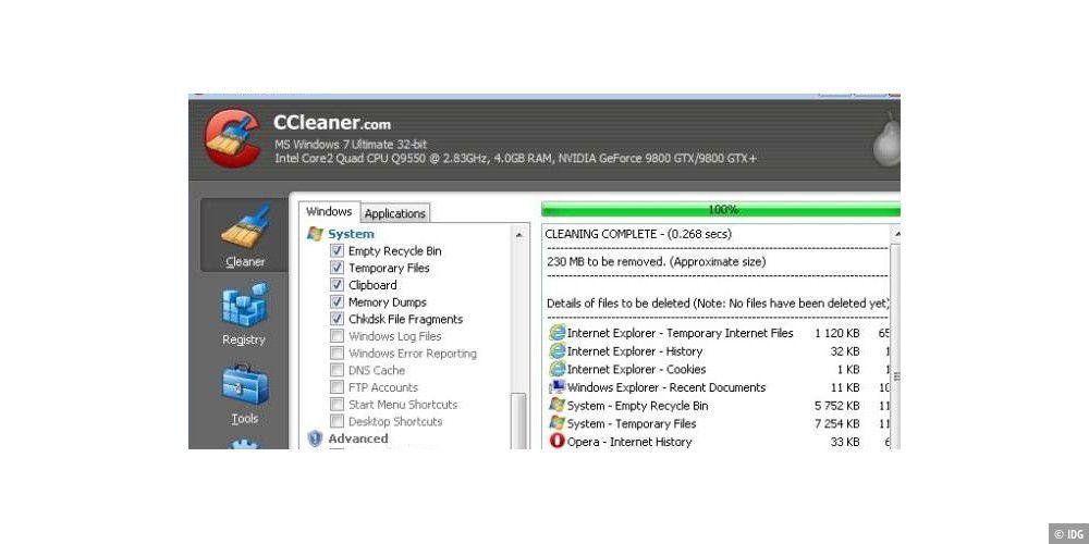ccleaner kostenlos für pc