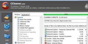 Cleaning-Tool: CCleaner