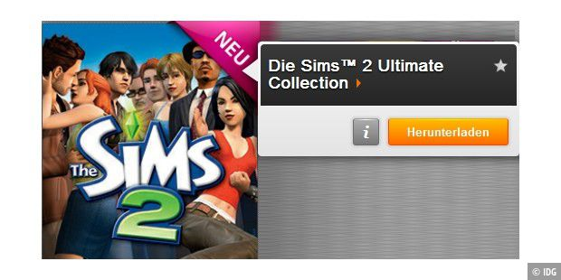 Für alle gratis: Die Sims 2 Ultimate Collection