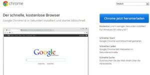Internet-Browser: Google Chrome
