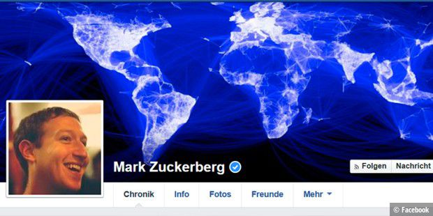 Mark Zuckerberg auf Platz 16 des Bloomberg Billionaires Index