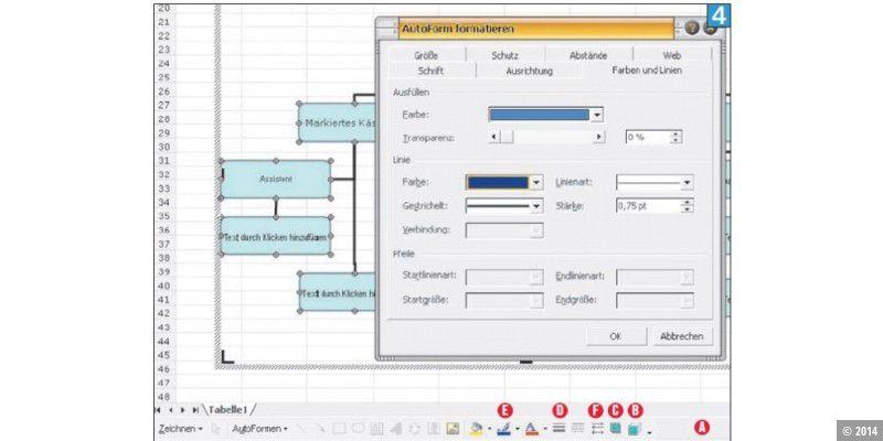 Geniale Organigramme Mit Excel Pc Welt