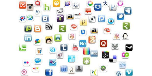 Man kann es in puncto Soziale Widgets auch übertreiben. (Bild: PCWorld.com)
