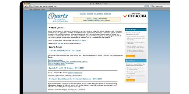 Quartz Enterprise Job Scheduler