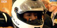 Video: Motorradhelm mit Head-up-Display