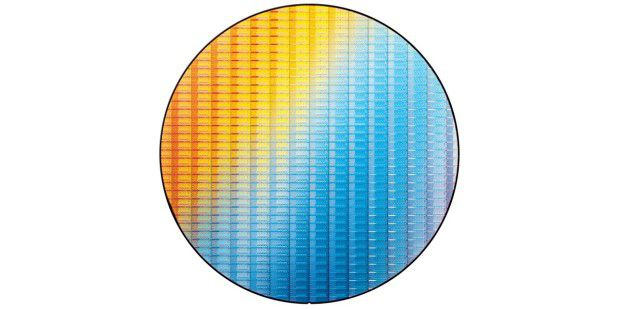 Intel Ivy Bridge: Wafer aus der