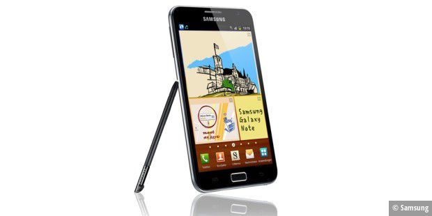 Platz 1: Samsung Galaxy Note