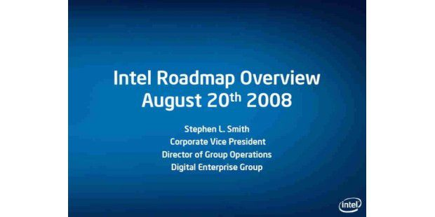 Intel Roadmap 2008/2009
