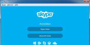 VoIP-Programm: Skype