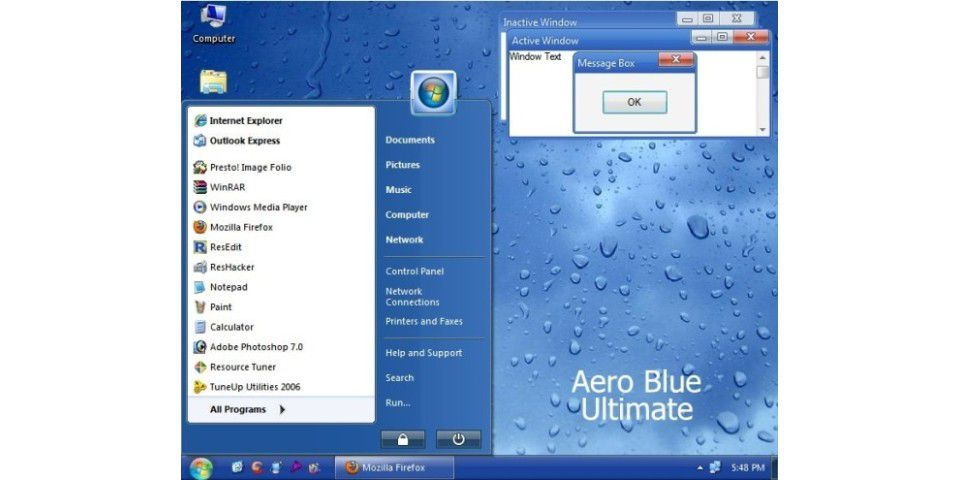 Aero Blue Ultimate