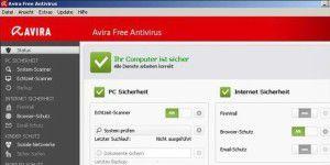 Gratis-Virenscanner: Avira Free Antivirus