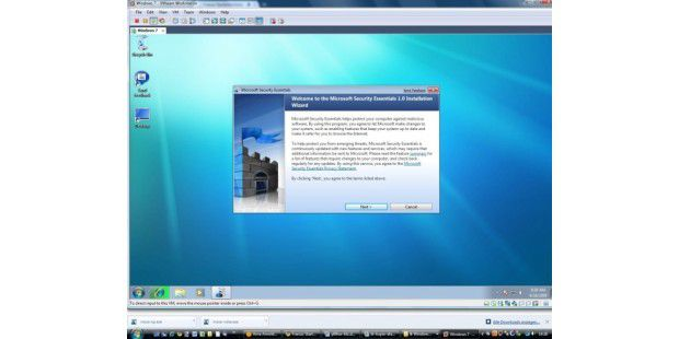 Microsoft Security Essentials - Bild 01