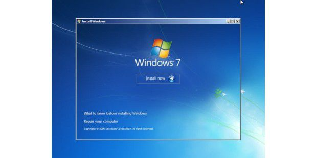 Windows 7 Build 7264 - Bild 001