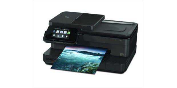 Multifunktionsgerät mit WLAN: HP Photosmart 7520