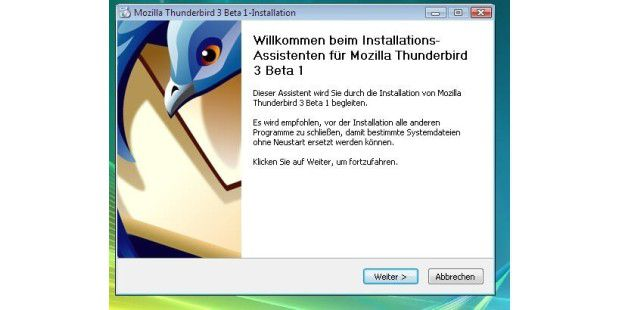 Thunderbird 3.0 Beta 1