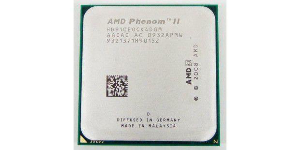 Platz 10: AMD Phenom II X4 910e