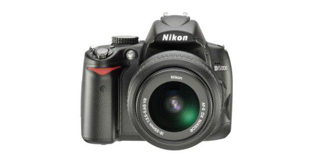 Platz 10: Nikon D5000