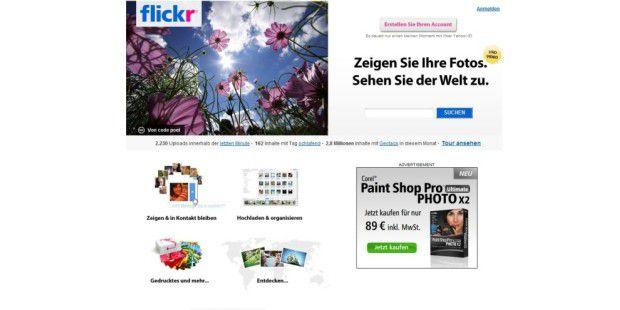 Platz 30: Flickr