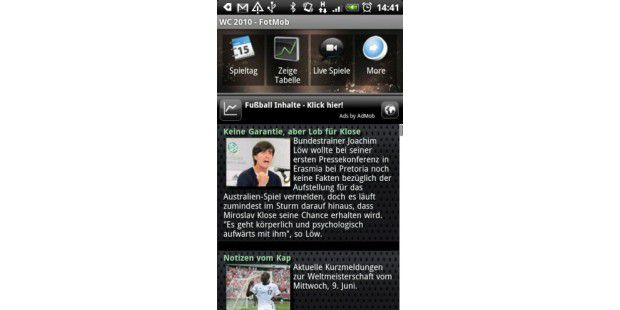 WM 2010: Android Apps
