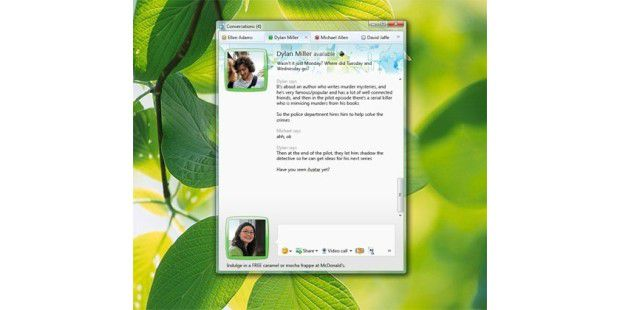 Windows Live Messenger - Bild 01