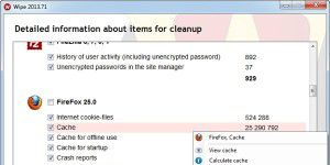Cleaning-Tool: Wipe