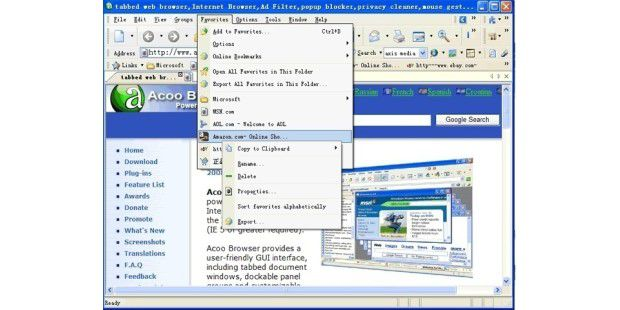 Acoo Browser 1.98