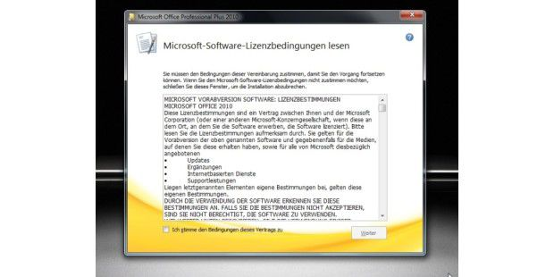 Office 2010 Beta 2 deutsch