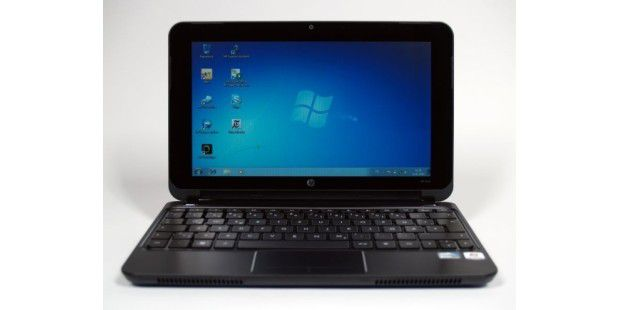 HP Mini 210 Front geoeffnet Windows