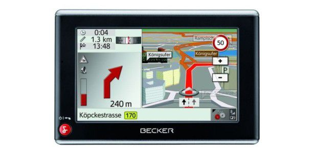 Platz 9: Becker Traffic Assist Z203
