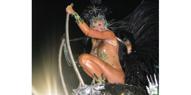 Sexy-Wallpaper vom Karneval in Rio