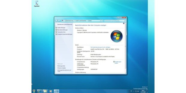 Windows 7 RC deutsch - Bild 001