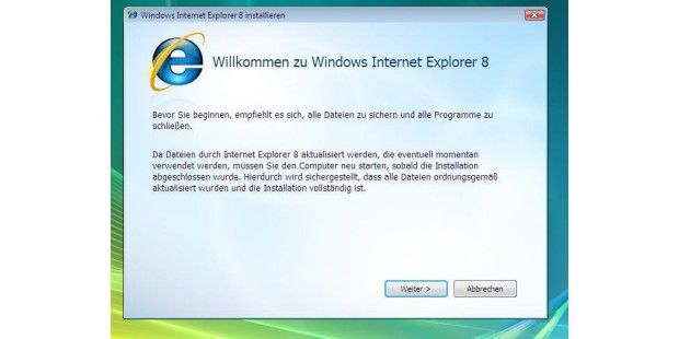 Internet Explorer 8 (Build 18697) - 001