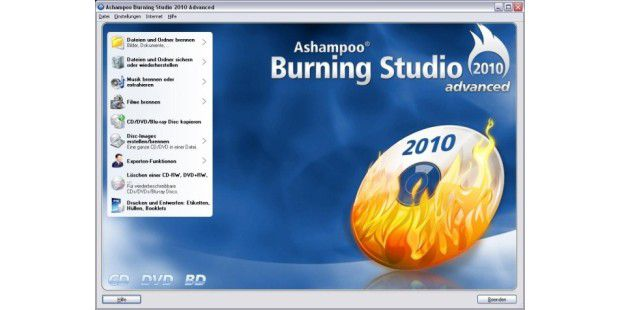 Ashampoo Burning 01