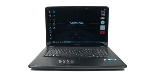 Medion Akoya E7214 frontal Windows